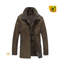 Mens Shearling Coat Jacket CW878136