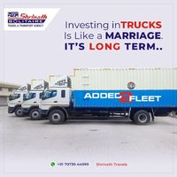 Investing in Trucks, Is Like a Marriage. It's Long Term.  Bharat Benz Added 2 Fleet, For Fast Luggage Services #bharatbenz #fastluggageservices #trucking #latestfleet #shrinathtravels Visit us at:- http://shrinathbus.com/