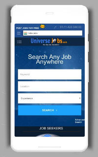 Universejobs is a better option for developing your best Career and Employment Information. You are one click away from us. Fresher and Experienced Click here to apply online.