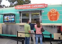 Downtown Disney's Superstar Catering Food Truck #Disney