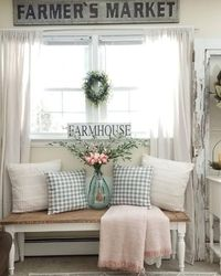 Living room is essential in every home. Make a living room with Farmhouse style excels option, because farmhouse is about comfort, soft colours, texture, and al