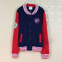 2015 School Navy Red Cotton Baseball Basic Jackets On Sale