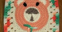 "Free pattern for ""Teddy Bear Squared"" by Christal's Crochet!"