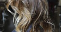 This grown out piecy ombre is simply alluring and although the transition is drastic, since it is only blonde through the ends, it adds major depth and sex appeal.