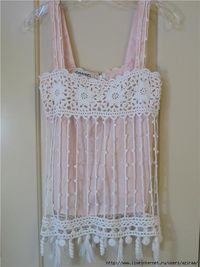 crochet top, fast and easy