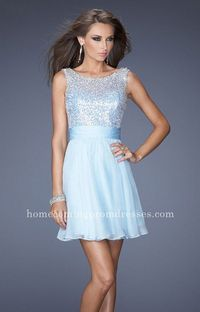 Hot Coral La Femme 19714 Sparkly Sexy Short Ruched Homecoming Dresses