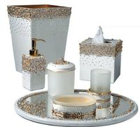 Duchess Pearl Bath Accessories by Mike + Ally $237.00