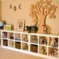 book shelves, manipulatives holders, and more!