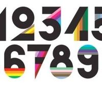 typography numbers