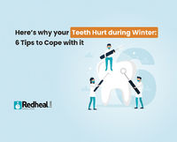 Tooth pain in winter is a common occurrence. It is due to teeth sensitivity. Check our blog article to know more about it and tips to prevent it. https://www.redheal.com/blog/dental/heres-why-your-teeth-hurt-during-winter-6-tips-to-cope-with-it/