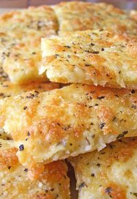 Easy Cheesy Garlic Breadsticks ~ Breadsticks can become a perfect appetizer or a good combination with your favorite soup.