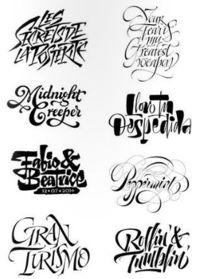 Calligraphic Logo by Pietro Piscitelli