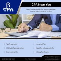 We are tailored to serve small business and individual taxpayers. Beta Solutions CPA is a full-service accounting and business services firm. We offer professional services like Tax Management Services, International Taxation and others, Certified Public ...