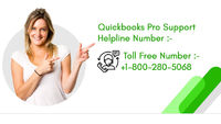 As we are a team of certified QuickBooks Pro Support, we believe in assisting you in the best way by putting all our efforts in accounting and technical solutions creatively and punctually. If you are facing trouble in QuickBooks Accounting and Tech then ...