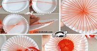 Paper Plate (and Coffee Stick) LOOM