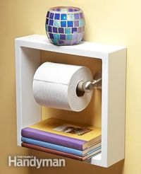When it comes to easy storage ideas, nobody beats our crew of editors. Here are 10 creative DIY solutions that provide more storage without adding cabinets or d