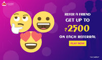 Rummy Online - Refer a Friend and get Rs.2500 for free.. Rummy Online Referral program lets you earn free cash to play rummy online games at Classic Rummy by inviting friends to play rummy. Refer a friend and win free cash. Play Rummy Now: https://www.c...
