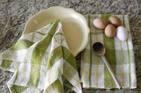 Hand woven kitchen towels tutorial - Rigid Heddle