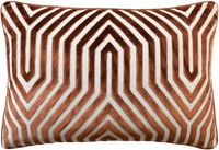 Vanderbilt Velvet Rust Lumbar Pillow by Ryan Studio $305.00