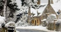 Chipping Campden in Snow, Gloucestershire, England (by Andrew Lockie on 500px)