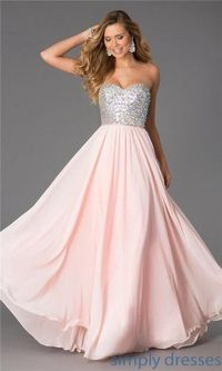 Blush Sparkly Top Long Prom Dresses By CD-0386