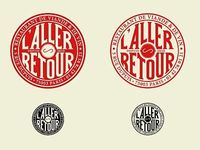 L'aller-retour, great logo, and excellent restaurant btw