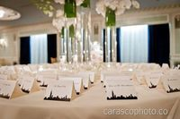 Chicago Skyline Wedding Place Cards -- Customizable. Other cities available too.
