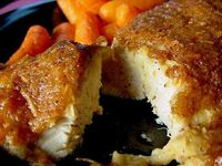 So much better than fried!!! Melt in Your Mouth Chicken Breast, 1/2 c parmesan cheese,1 c Greek yogurt, 1 tsp garlic powder, 1 1/2 tsp seasoning salt 1/2 tsp pepper, spread mix over chicken breasts, bake at 375 45 mins - Healthy Pins Blog : Your Health is...