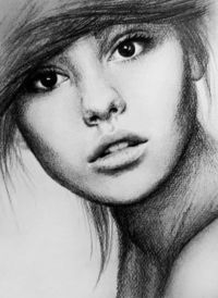 pencil drawings, charcoal art and charcoal drawings.