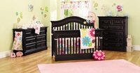 We've made our final decision on the crib! Love this set. Babi Italia Parrish vintage black