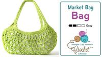 Crochet Market Bag Introducing a crochet large market bag that has an interesting shape and lots of great advantages. Unlike