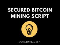 "Secured #Bitcoin #mining #script to Launch Your #Crypto #business #Website! Free demo only at >>> ""http://bitdeal.net """