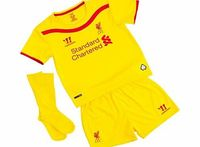 Warrior Liverpool Away Infant Kit 2014/15 WSTI402 Liverpool Away Infant Kit 2014/15 YellowYour little one will love wearing this Liverpool Away Infant Kit 2014/15 Yellow. New for 2014/15, this yellow shirt, socks and shorts set tunes into the heart http...