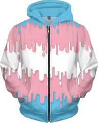 Transgender Abstract Drips Flag $89.00