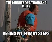 Bob Baby Steps | The journey of a thousand miles begins with baby ...