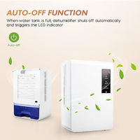 3L 150W Smart Dehumidifier Electric Eliminating Moisture in Home Dehumidifying Air Dryer