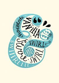 Hand Lettered Print by Steph Baxter