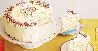 Get this all-star, easy-to-follow Fluffy Confetti Birthday Cake recipe from Food Network Kitchen