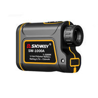 SNDWAY 1000/1500m Distance Meter Waterproof USB Rechargeable Hunting Campact Range Finder Spotting Telescope