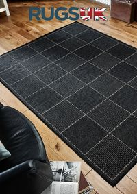 Our Checked Flatweave Rug by Oriental Weavers in Black Colour is inspired by the traditional sisal rug. Get here now: https://www.rugsuk.com/checked-flatweave-rug-design-black-by-oriental-weavers/