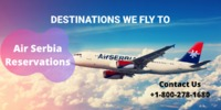 Thinking to plan your next destination? Think about us and plan your amazing journey and get your Air Serbia Reservations at very cheap rates. For all your journeys, we will be providing you the greatest deals and offers which are available to make save a...