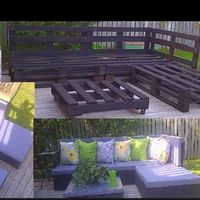 """Patio furniture�€""""and good furniture in general�€""""can get pretty expensive, especially when it's as enormous as this DIY project. Redditor torontoitguy posted photo"""