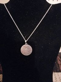 With God All Things are Possible Silver Pendant Necklace $10.00