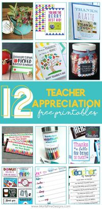 Have you got some ideas about what to give to teachers show gratitude and attention for accompanying children in the school time? Today I would like to share 12