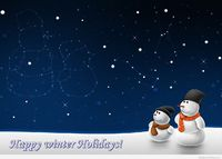 Amazing winter holidays picture