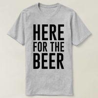 Here for the Beer, Here for the Beer Shirt, Vacation Tee Here for the Beer Mens T shirt tshirt Irish Shirt St Patrick's Shirt Husband Shirt $16.50