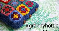 How to crochet a granny square hot water bottle cover by Foxs Lane