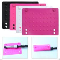 Flat Iron Heat Resistant Silicone Mat For Straightener Curling Hair Styling Accessory $4.99