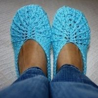 Free Crochet Slipper Patterns | Slippers crochet knitting photos only | Free Crochet Patterns & Free ...