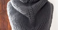 Dovetail Wrap - The Purl Bee (Free Pattern)